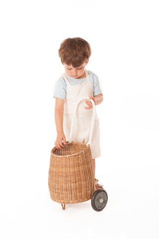 Olli Ella Little Luggy Basket - Natural