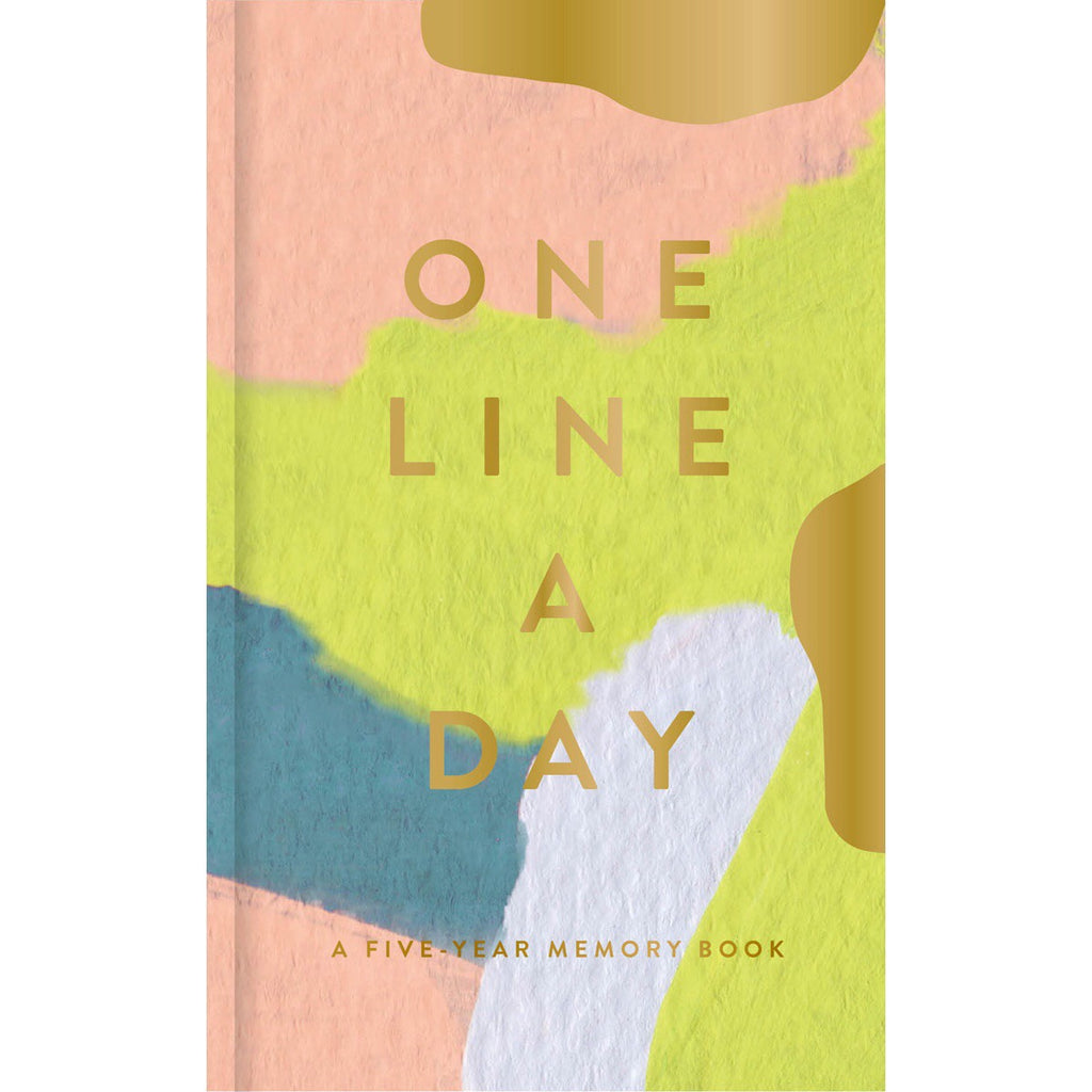 Moglea One Line A Day Journal