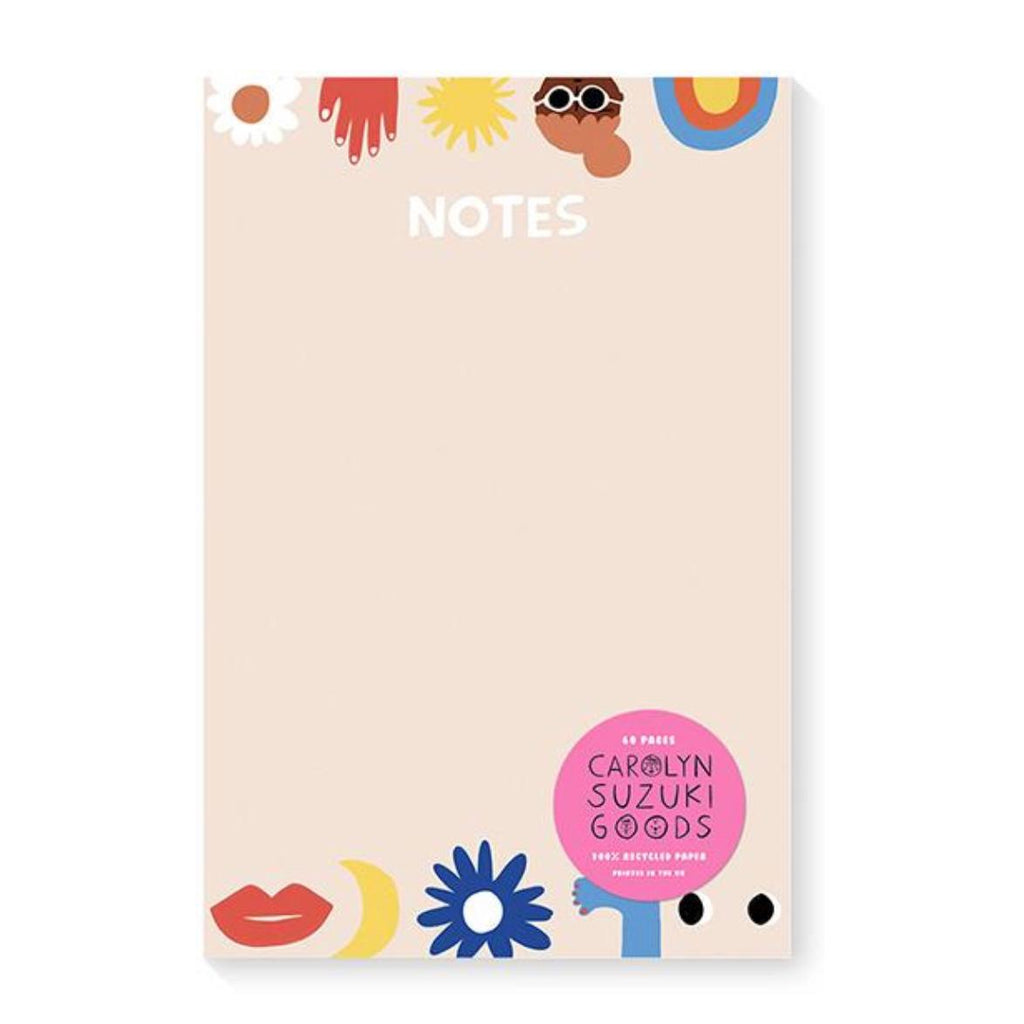 Carolyn Suzuki California Notepad