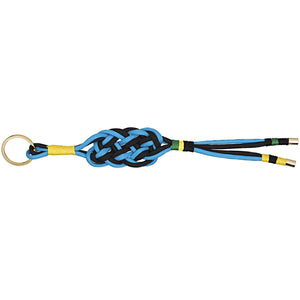 DIY Paracord Key Chain Kit - Black and Blue