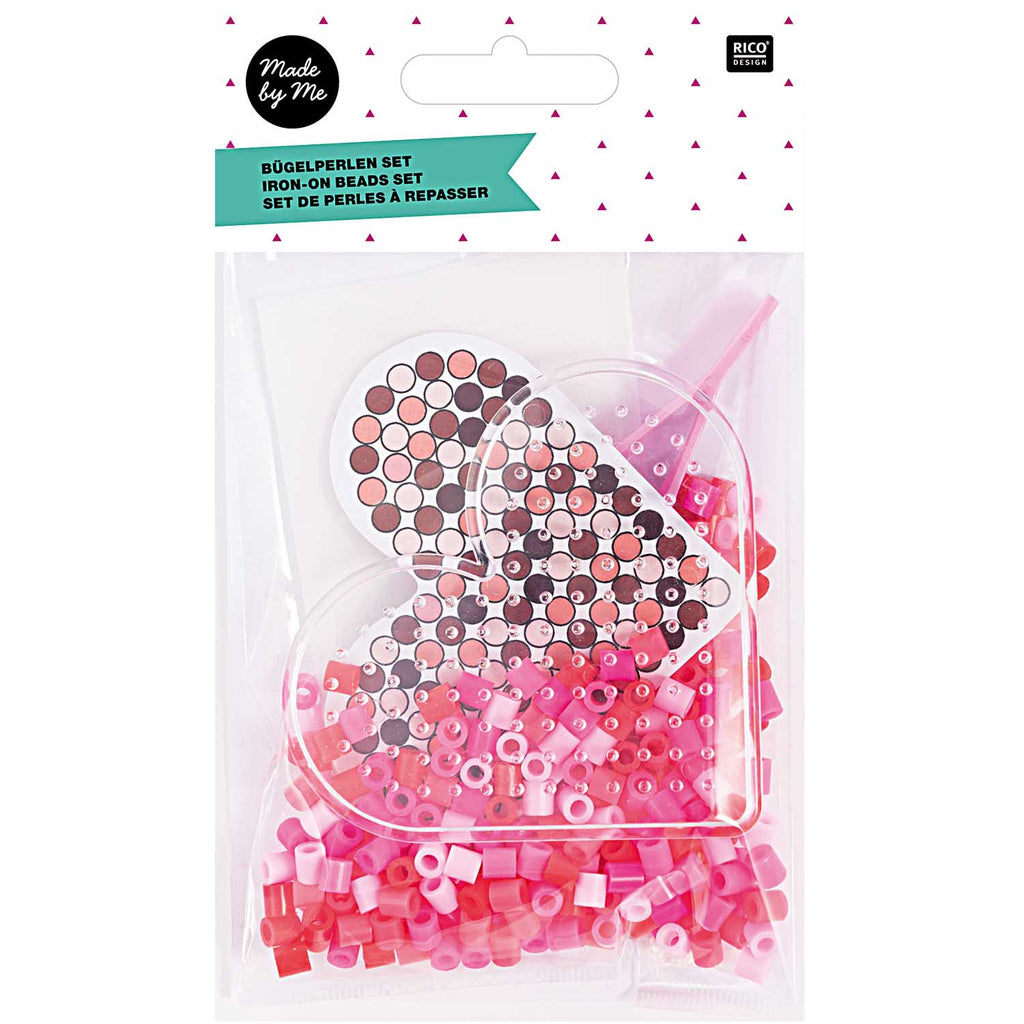 Ironing Beads DIY Set - Heart Shape
