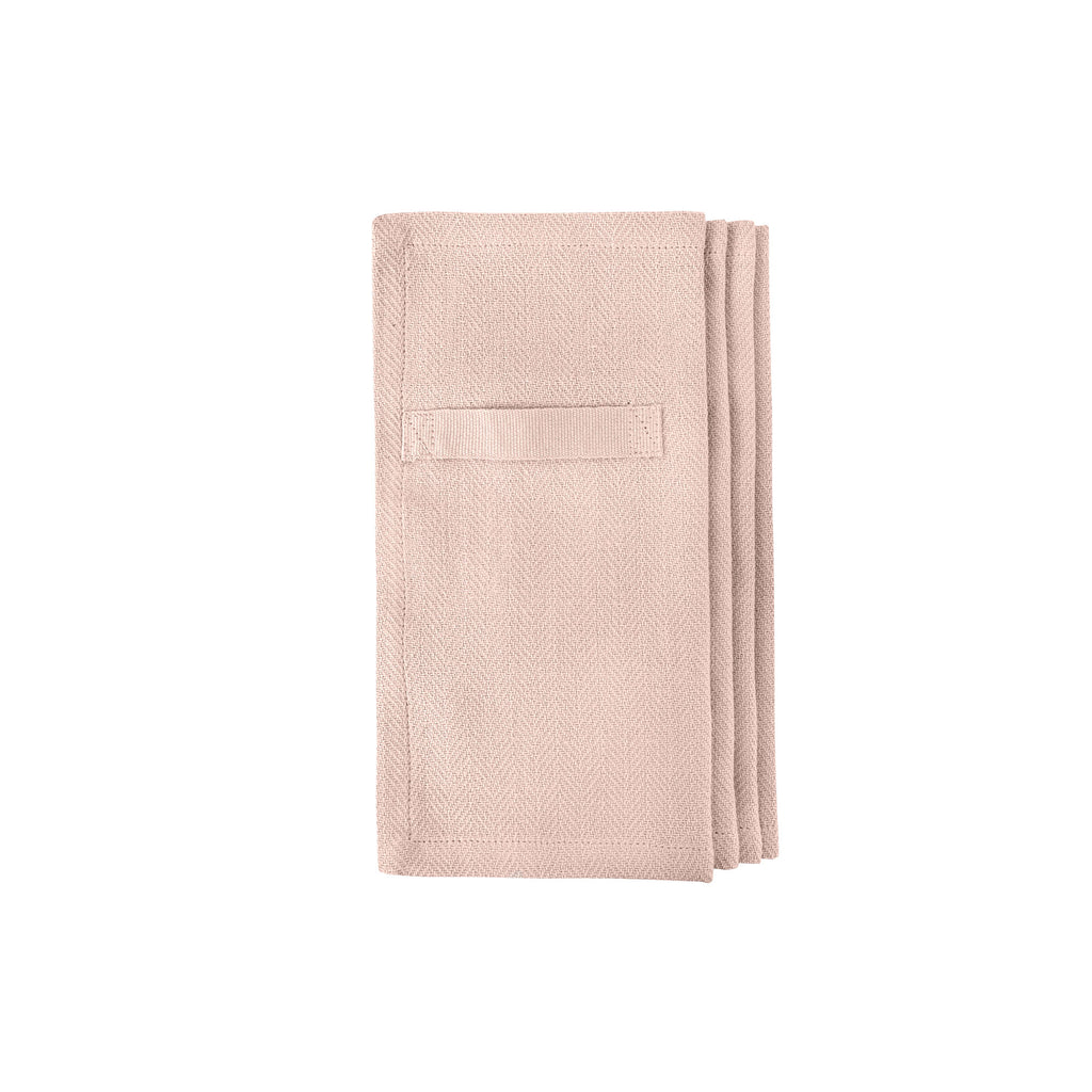 Every Day Organic Cotton Napkins - Pale Rose