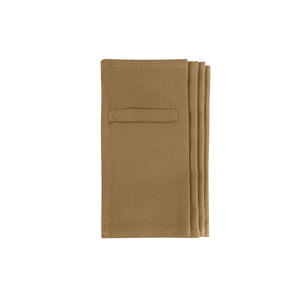 Every Day Organic Cotton Napkins - Khaki