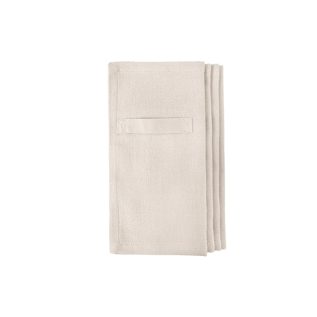 Every Day Organic Cotton Napkins - Stone