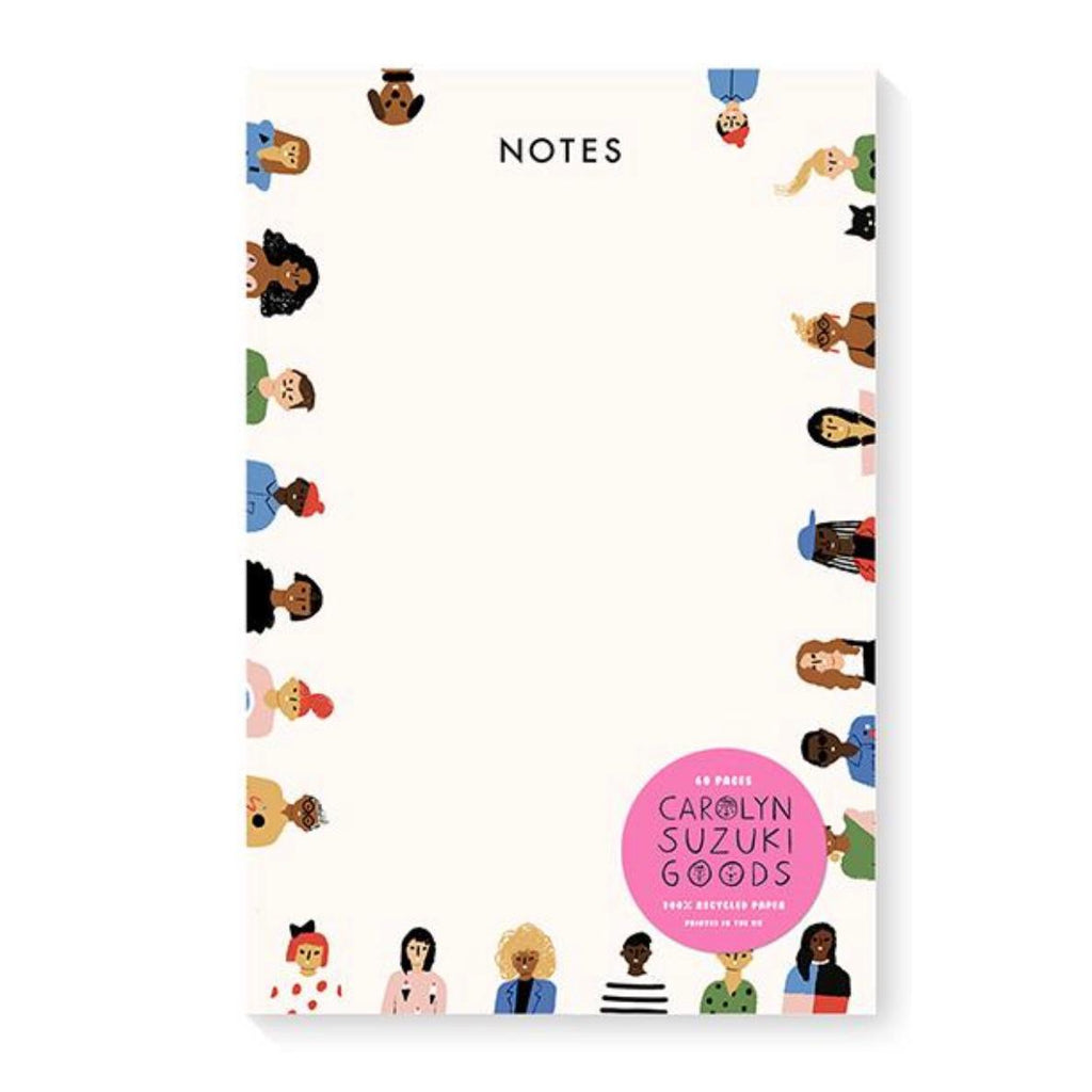 Carolyn Suzuki Friends Notepad
