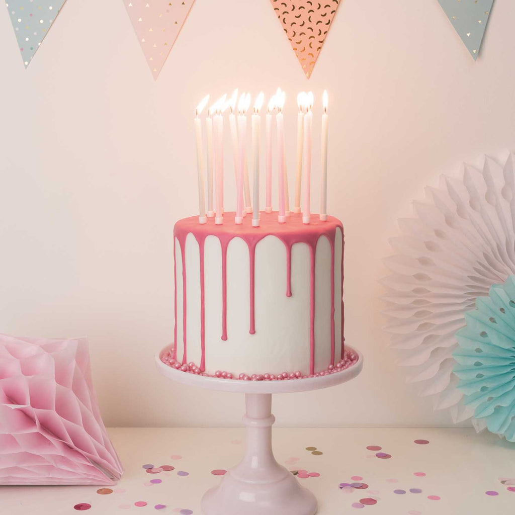 Long Candles - Pastel Mix
