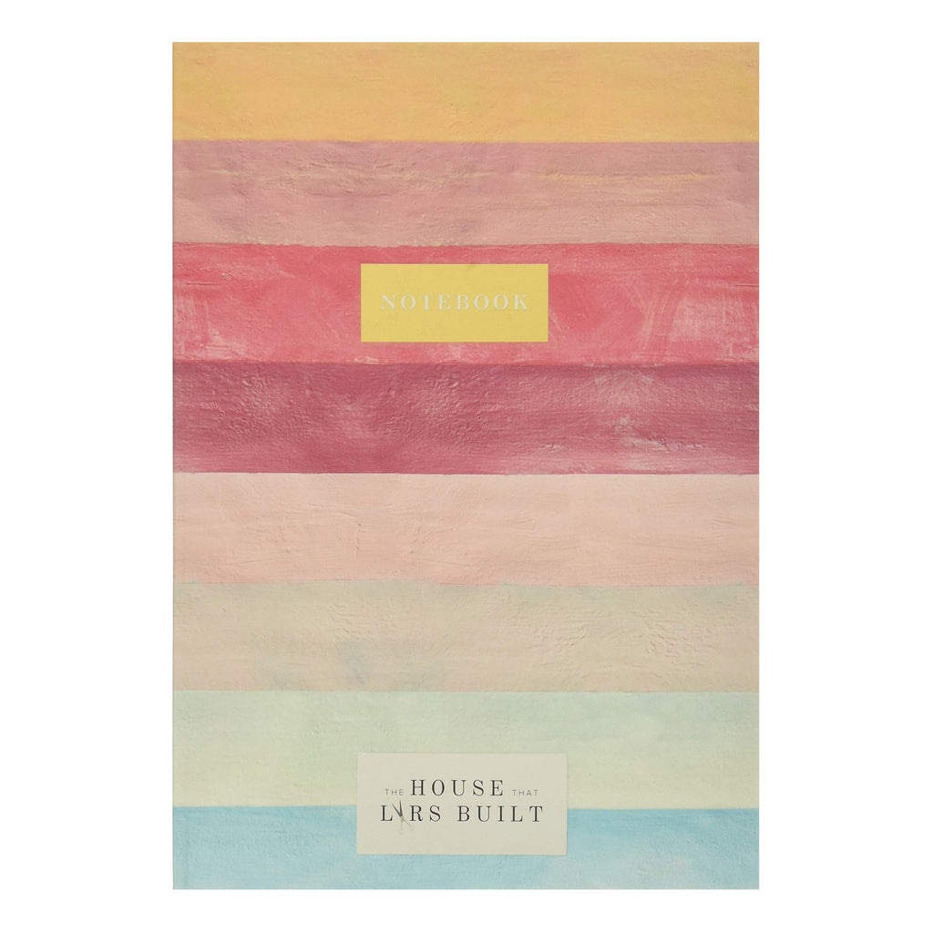 Multicoloured Stripe Notebook