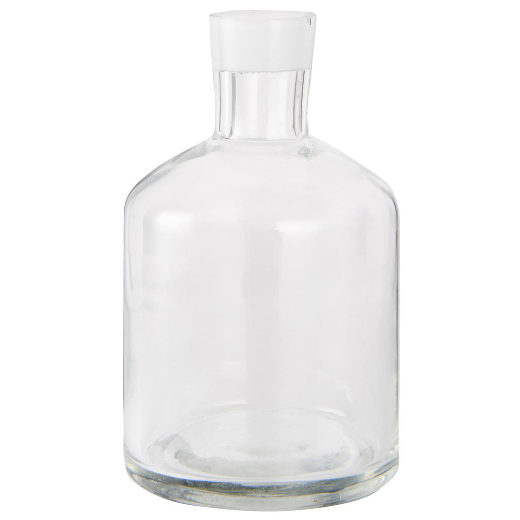 Small Glass Apothecary Bottles - Plain Glass