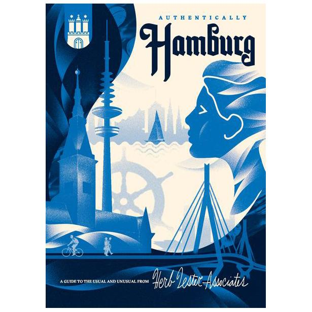 ** Travel Guide Map - Authentically Hamburg