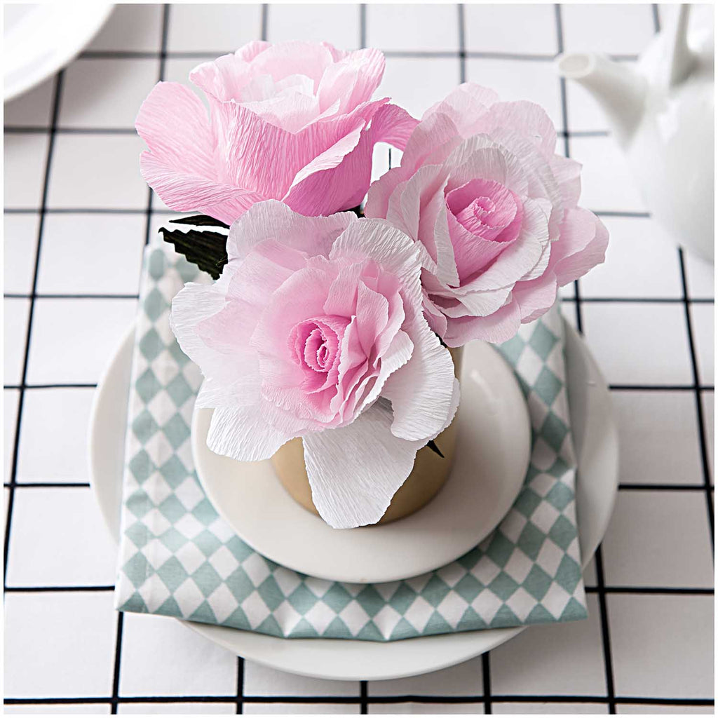 Paper Poetry Flower Kit - Rose