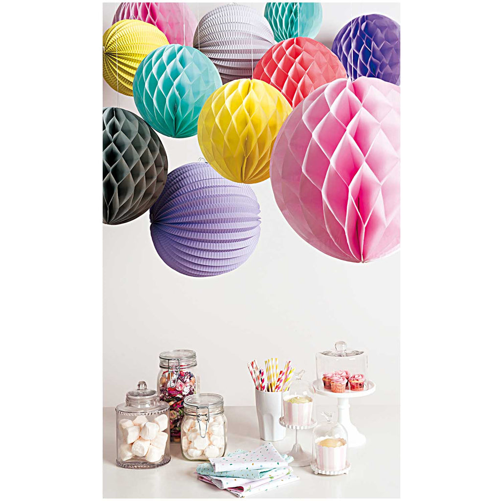 Paper Ball Lanterns -Pinks