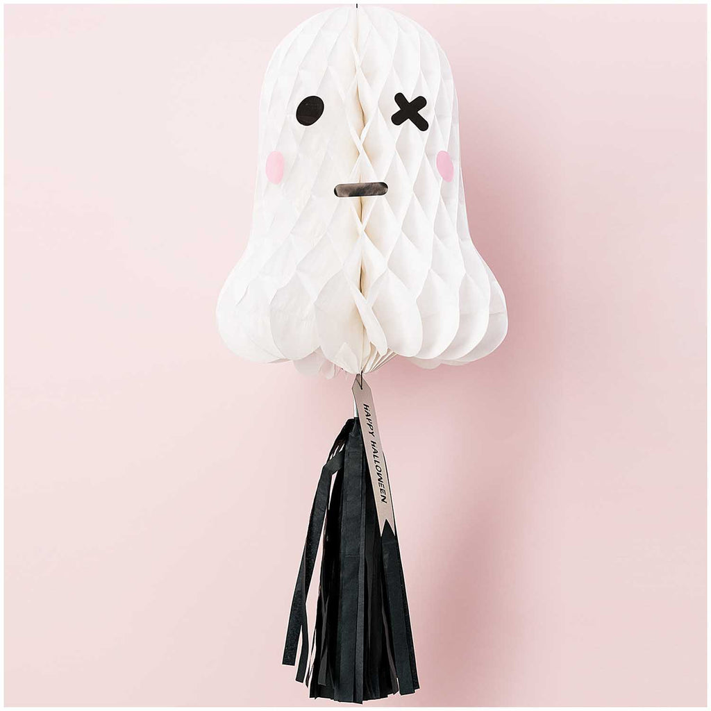 Honeycomb Ghost Figure with Tassel