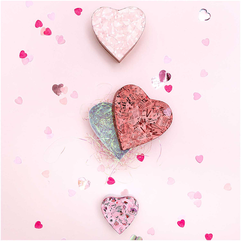 Box of Confetti - Valentine's Heart Mix