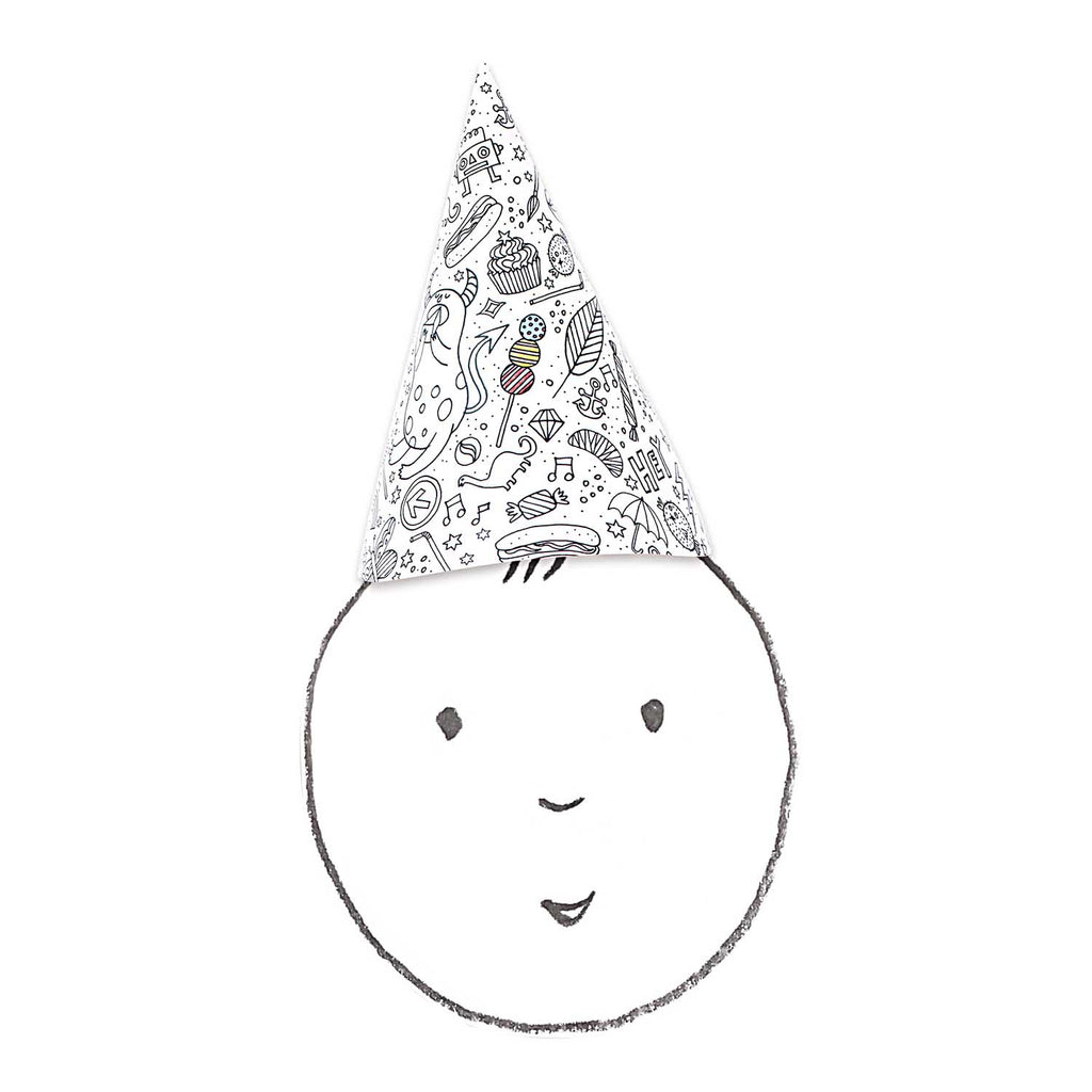 Colour You Own Paper Party Hats
