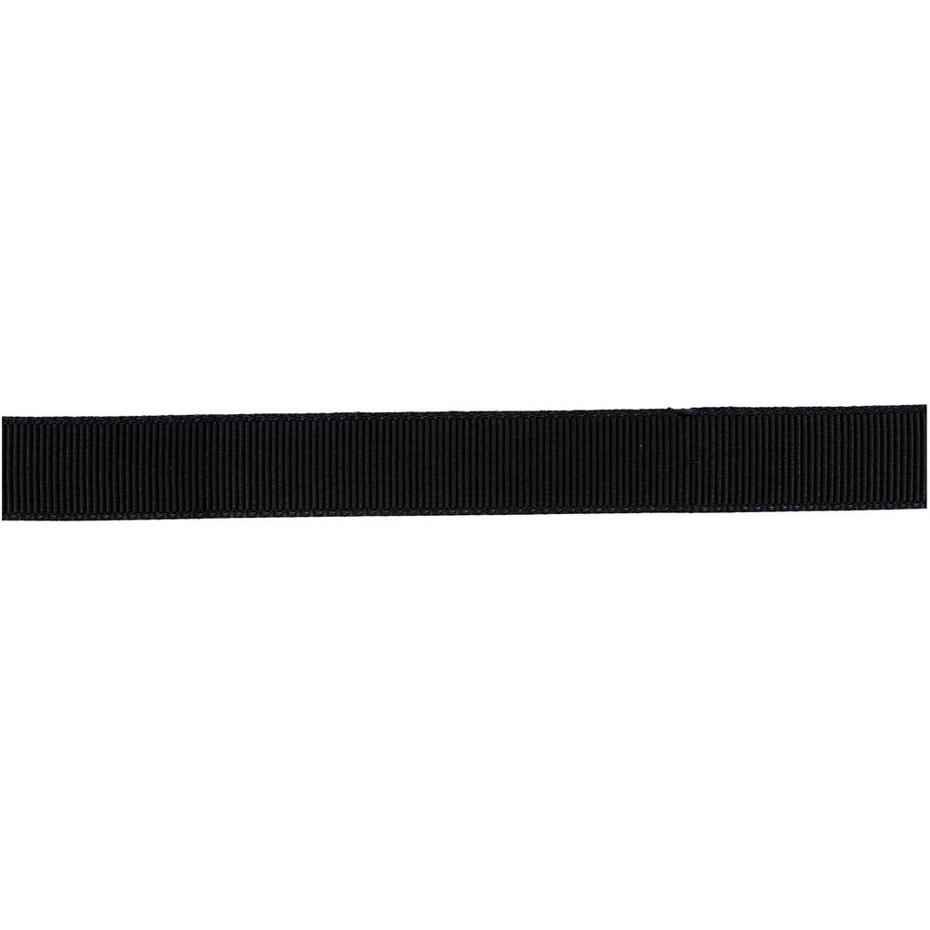 Grosgrain Ribbon - Black 3m