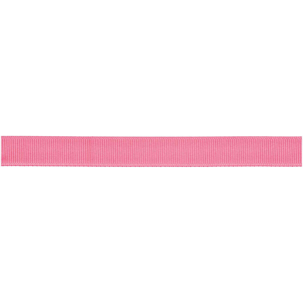 Grosgrain Ribbon - Neon Rose 3m