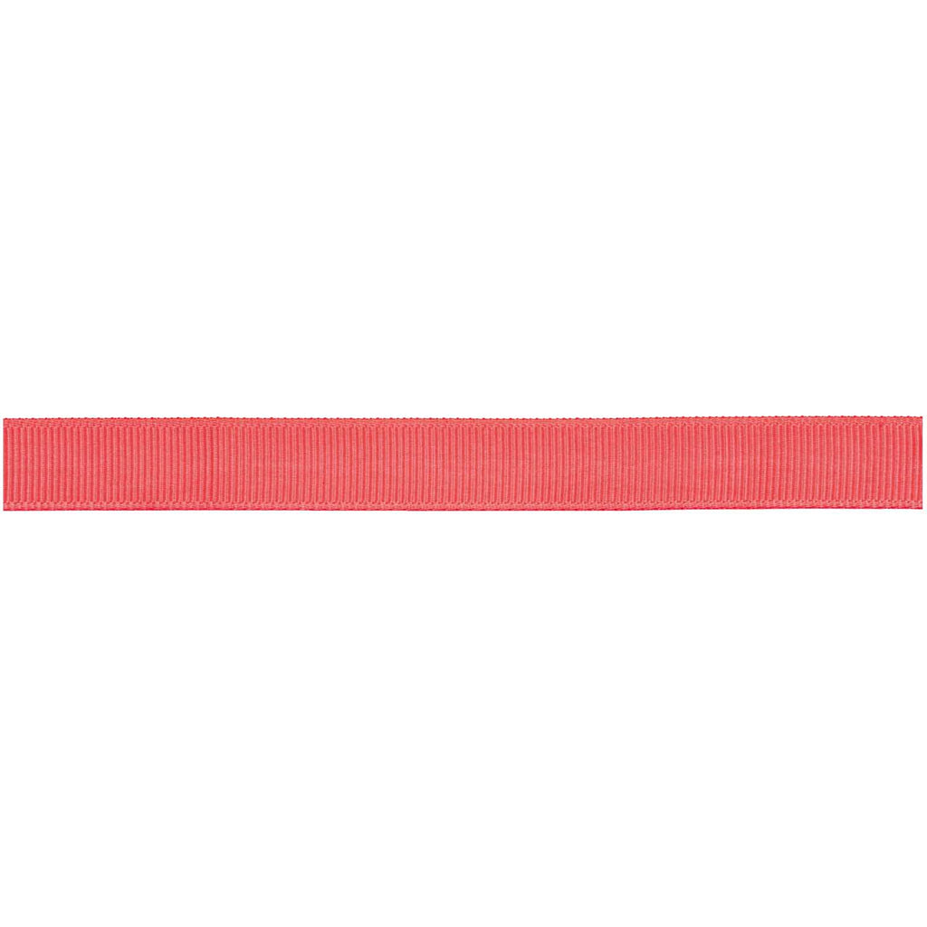 Grosgrain Ribbon - Neon Orange 3m