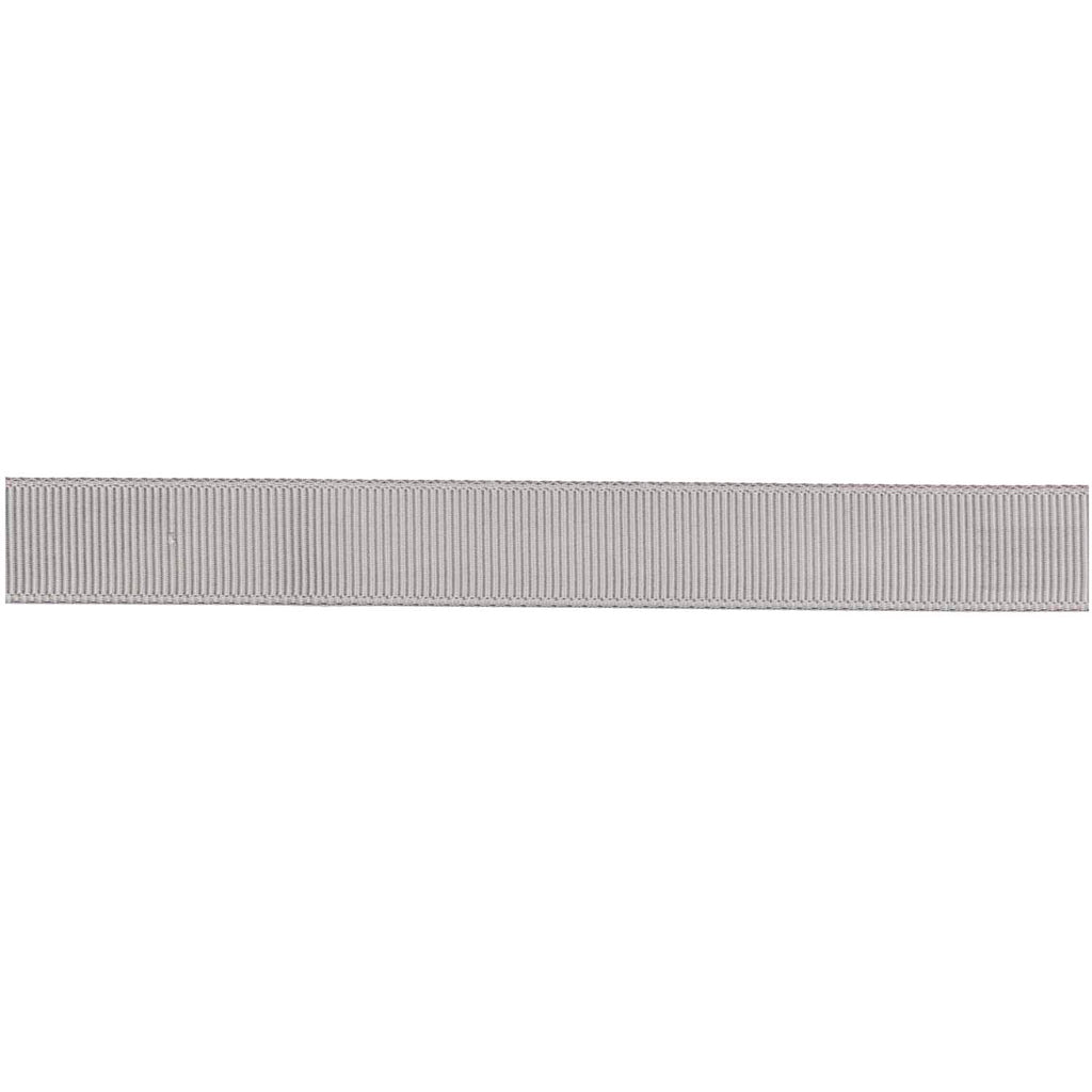 Grosgrain Ribbon - Silver 3m