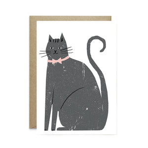 Charming Cat Card