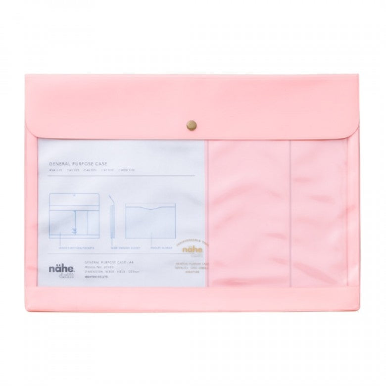 Hightide A4 General Purpose Case - Pink