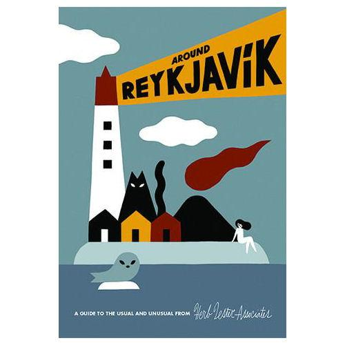 ** Travel Guide Map - Around Reykjavik