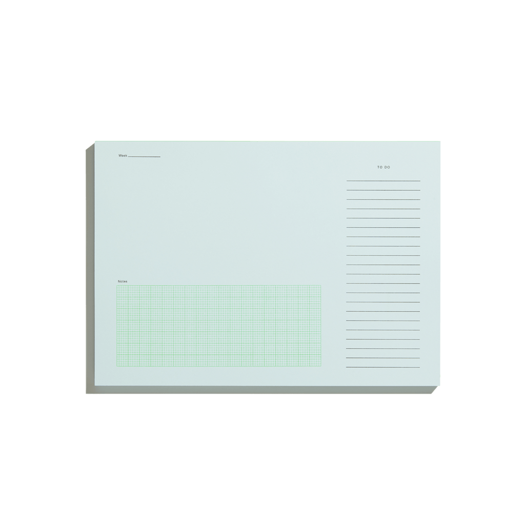 Desktop Notepad - Pale Blue