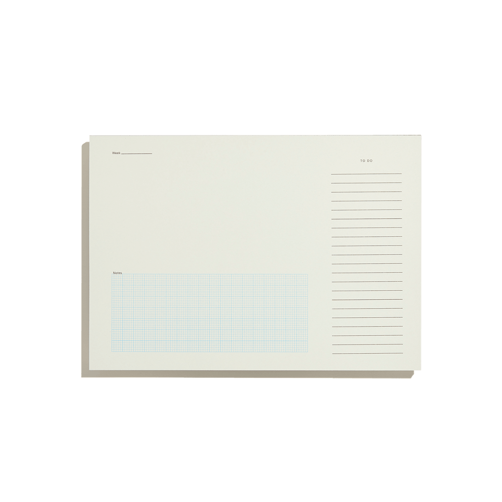 Desktop Notepad - Mid Grey