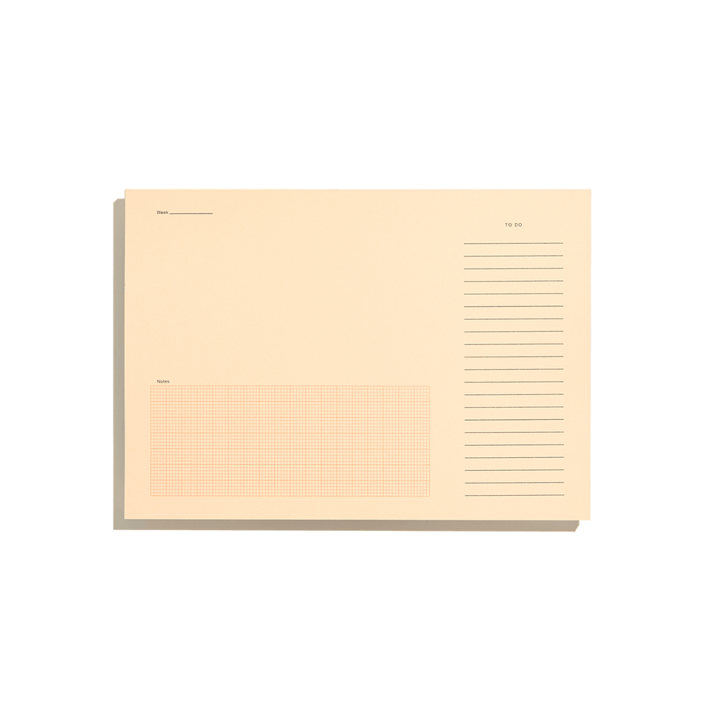 Desktop Notepad - Pale Salmon