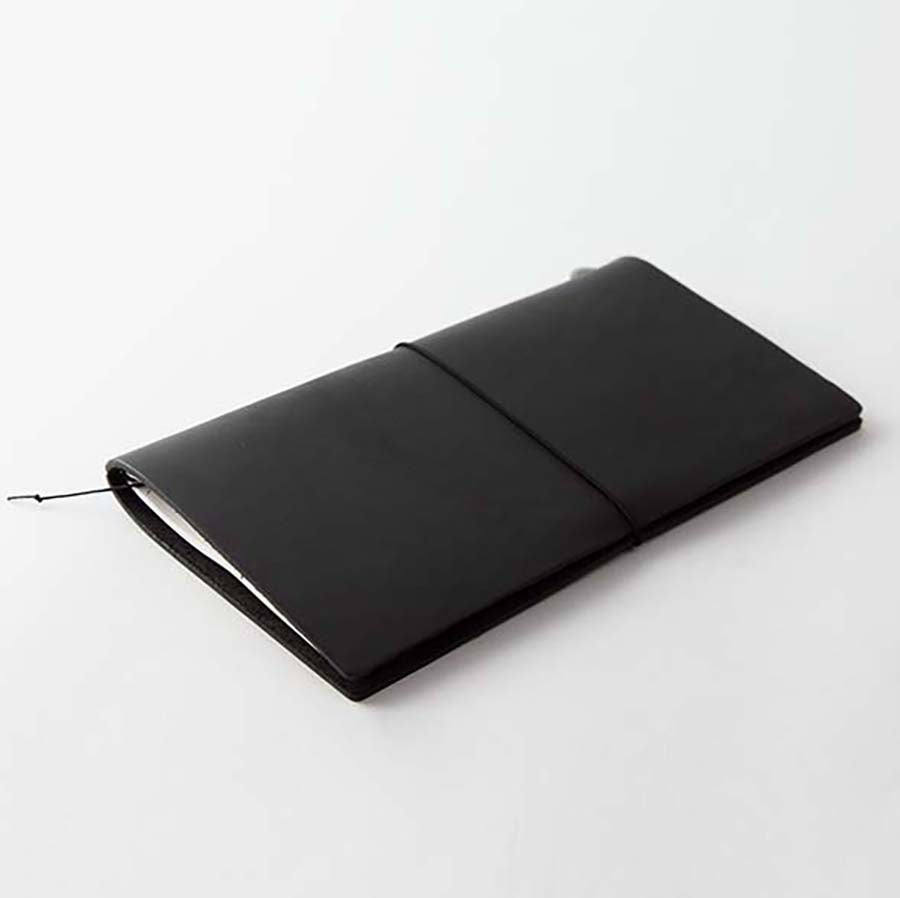 Midori Traveler's Notebook - Black Leather Starter Kit