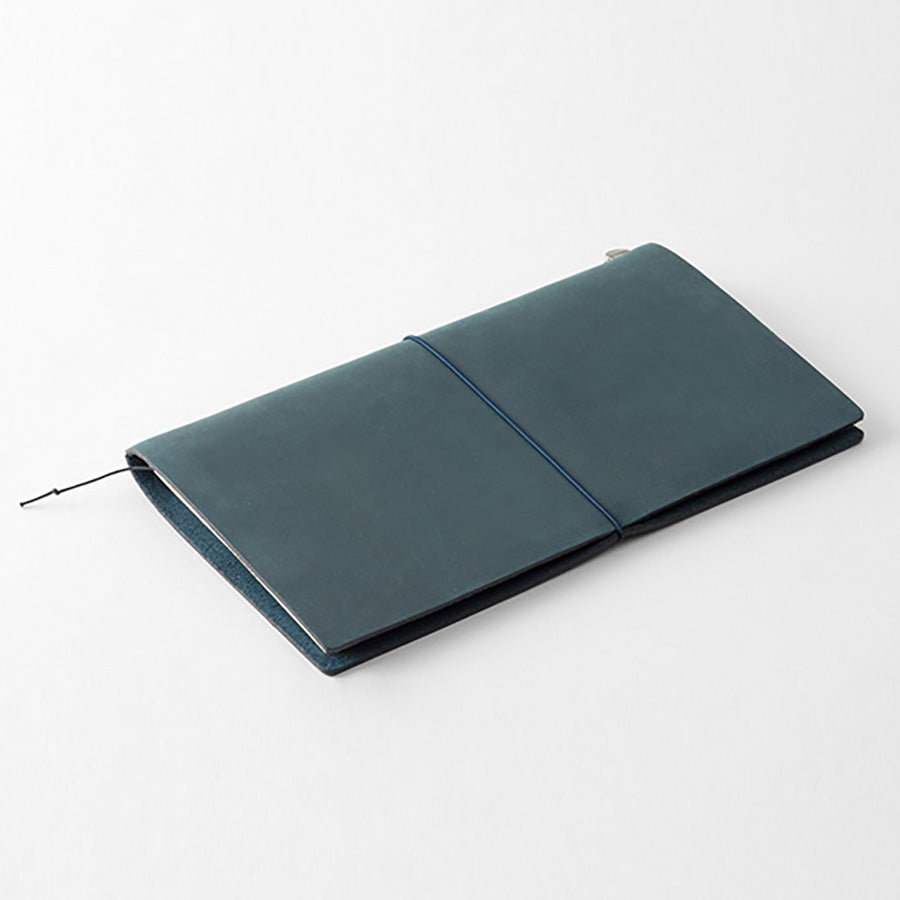 Midori Traveler's Notebook - Blue Leather Starter Kit