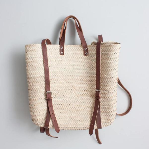 Basket Satchel Backpack