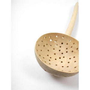Giant Wooden Sieve Spoon