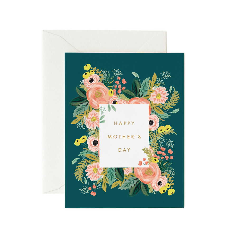 Bouquet Mother's Day - Greetings Card by Rifle Paper Co