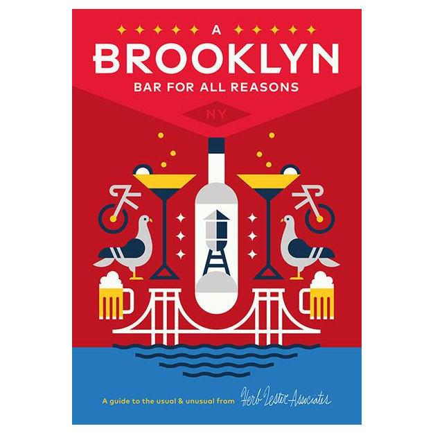 ** Travel Guide Map - Brooklyn, A Bar for all Reasons