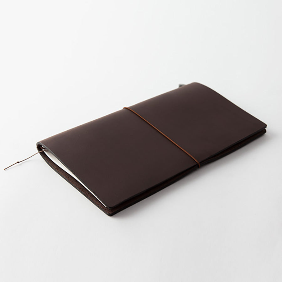 Midori Traveler's Notebook - Brown Leather Starter Kit