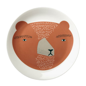 Bear Plate by Donna Wilson