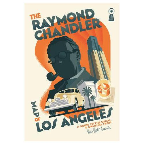 ** Travel Guide Map - Raymond Chandler Map of LA