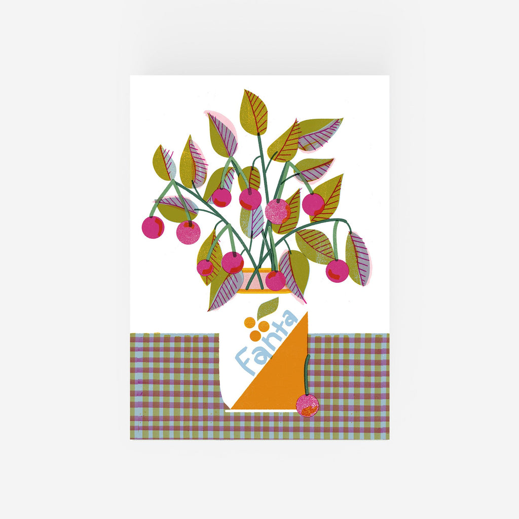 A4 Cherry Fanta Digital Print