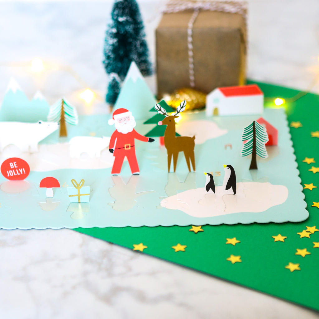 Pop Up Advent Calendar