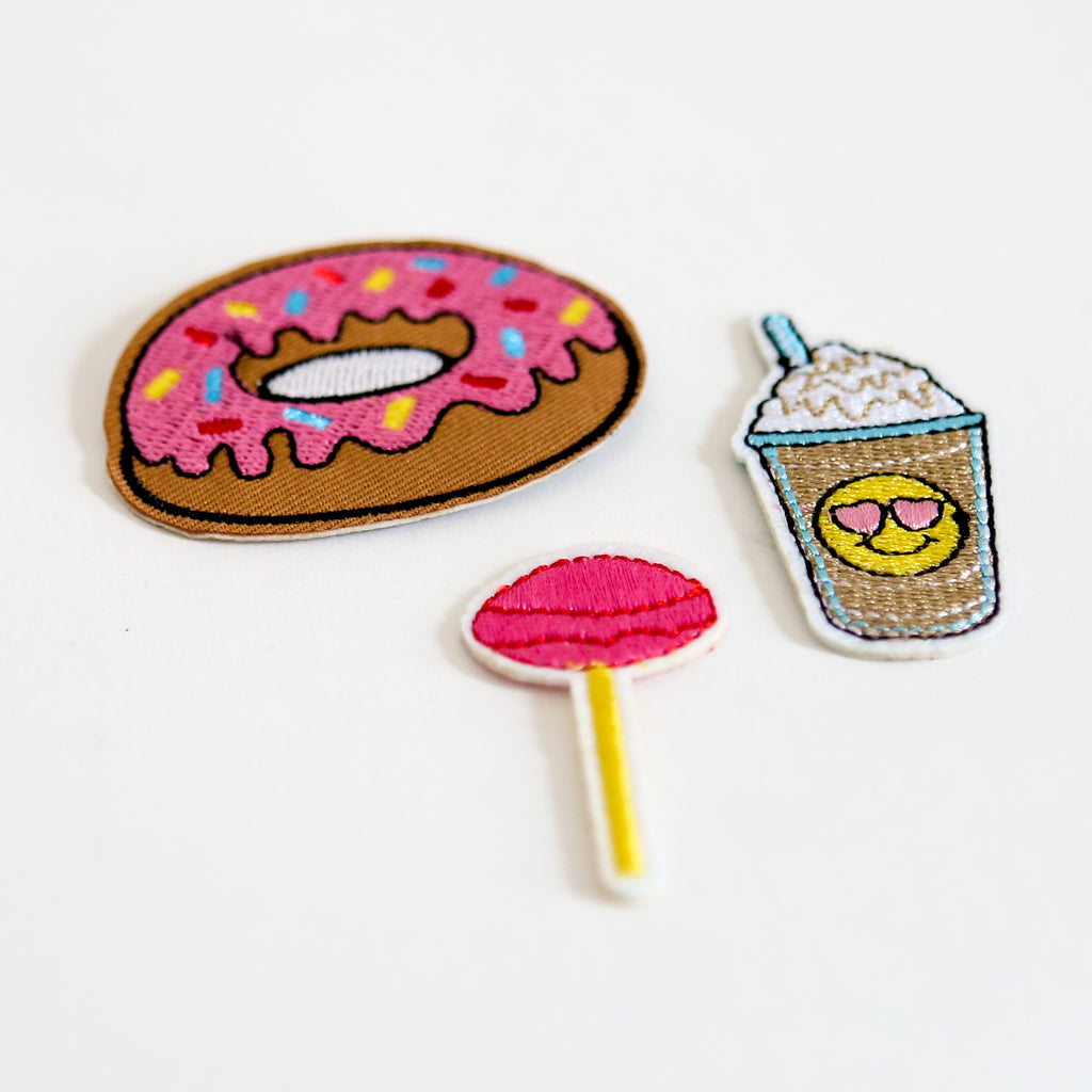 Sweet Tooth Iron On Patch Set