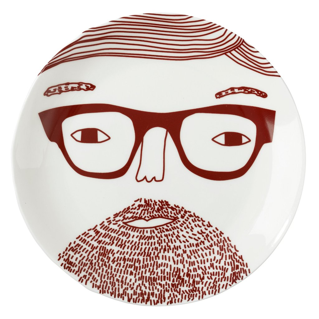 Johnny Plate by Donna Wilson