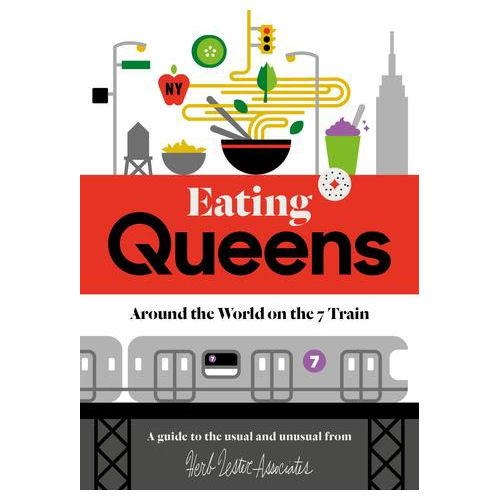 ** Travel Guide Map - Eating Queens