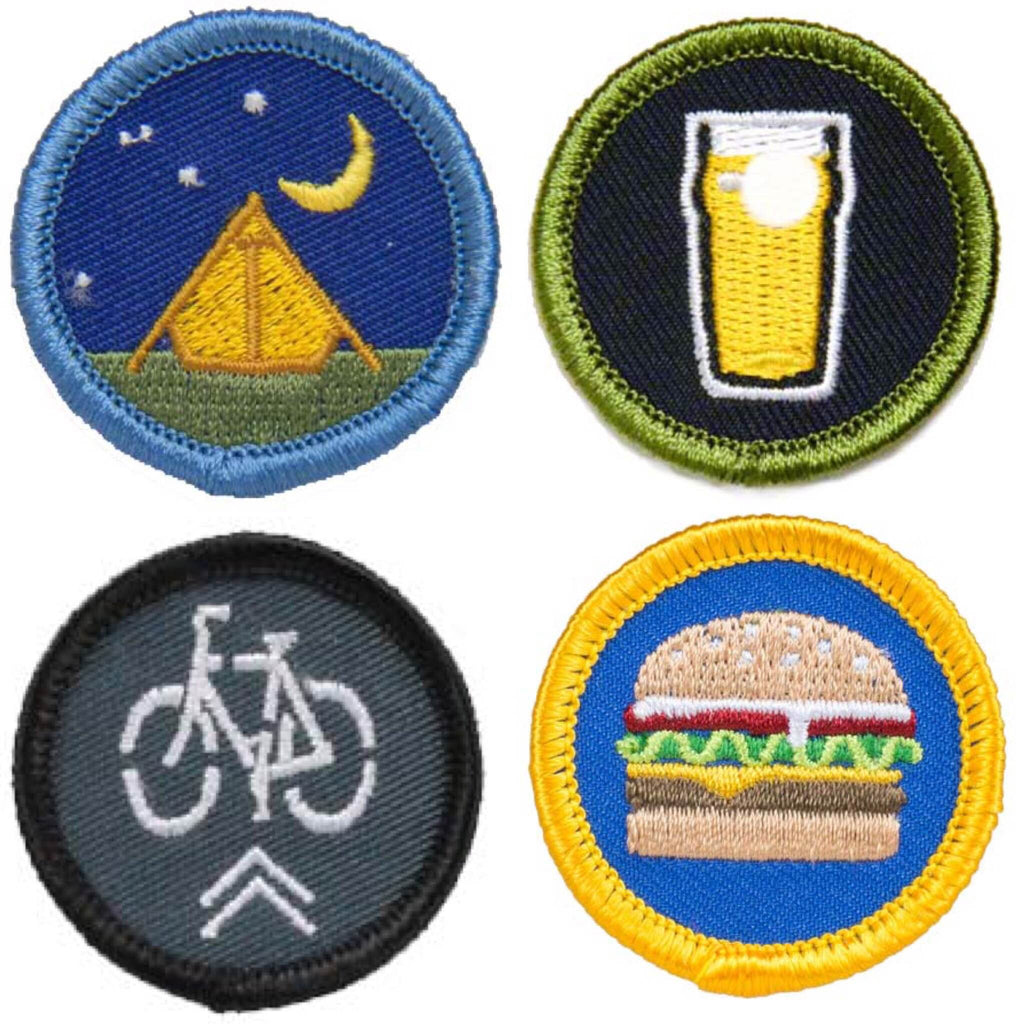 Alternative Merit Badge Patches