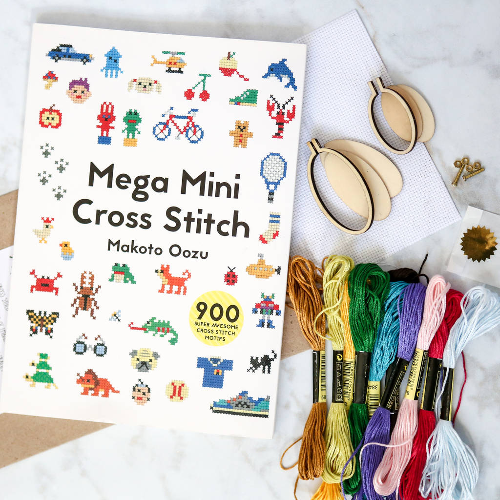 Mega Mini Cross Stitch Kit