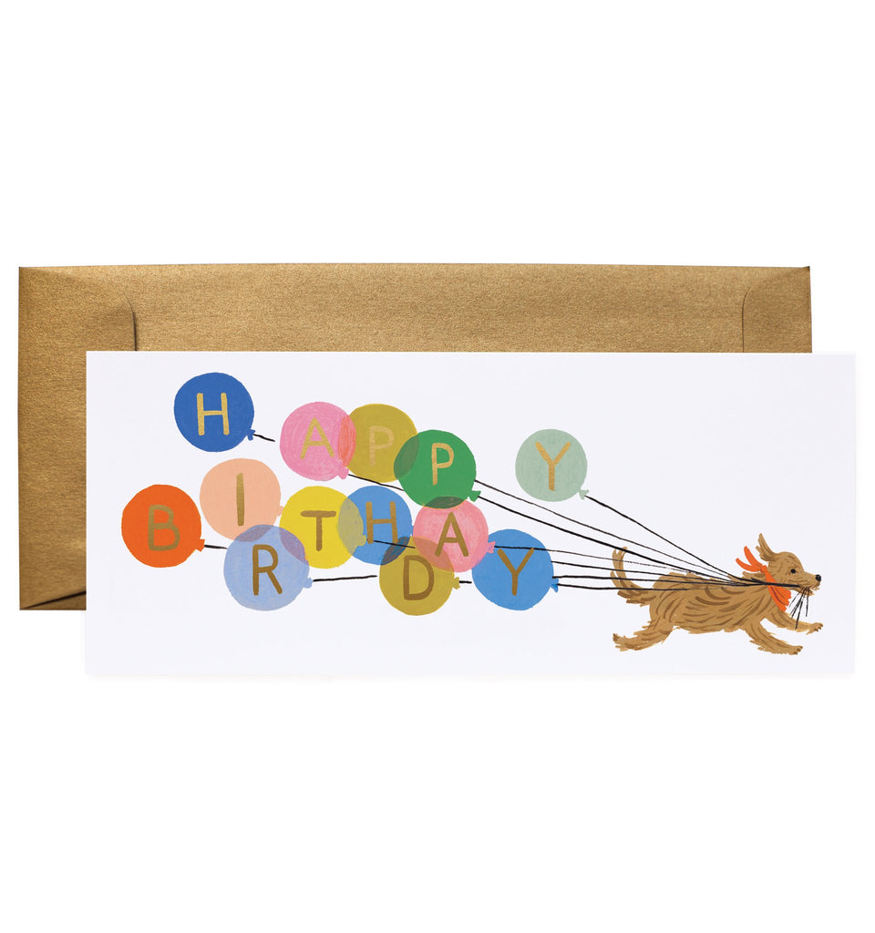 Balloon Birthday Card by Rifle Paper Co