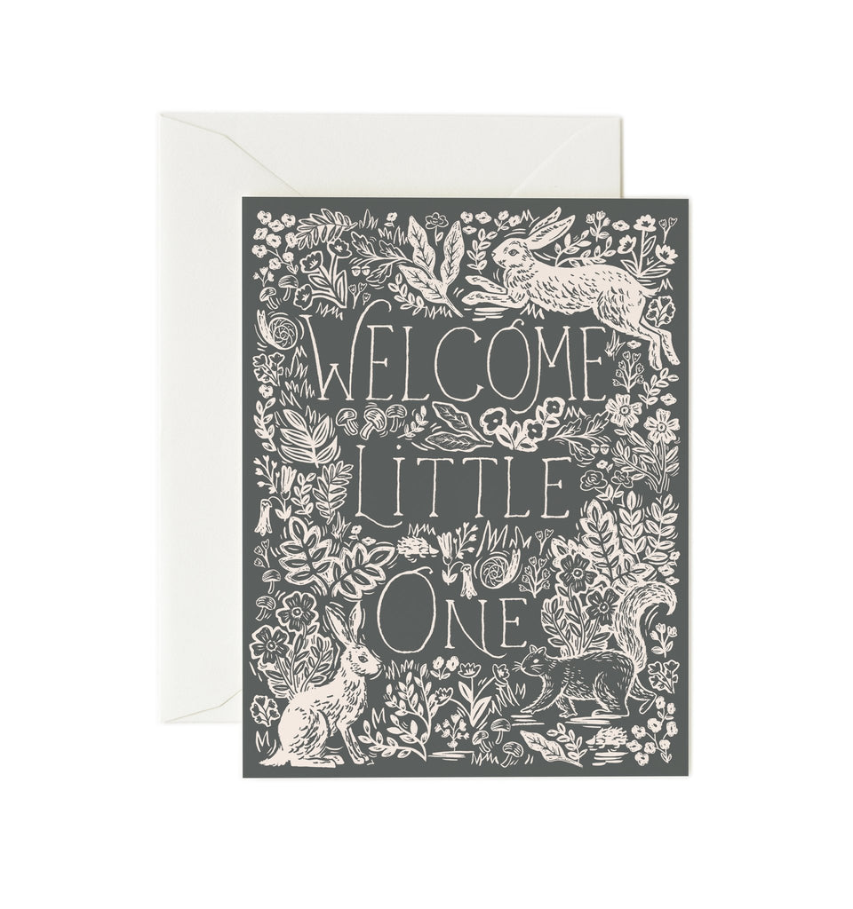 Fable Baby Card by Rifle Paper Co