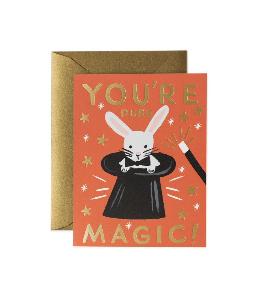 Pure Magic - Valentines Greetings Card by Rifle Paper Co