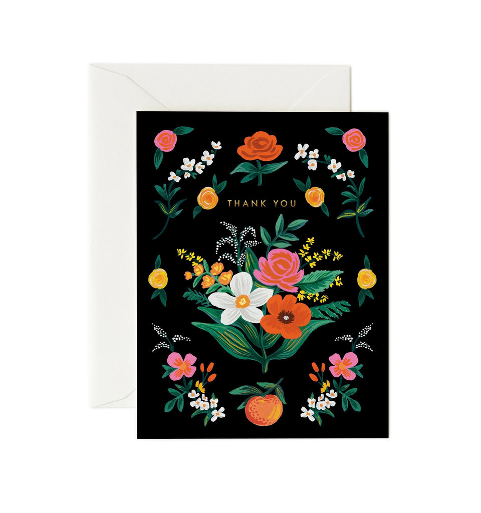 Orangerie - Thank You Card by Rifle Paper Co