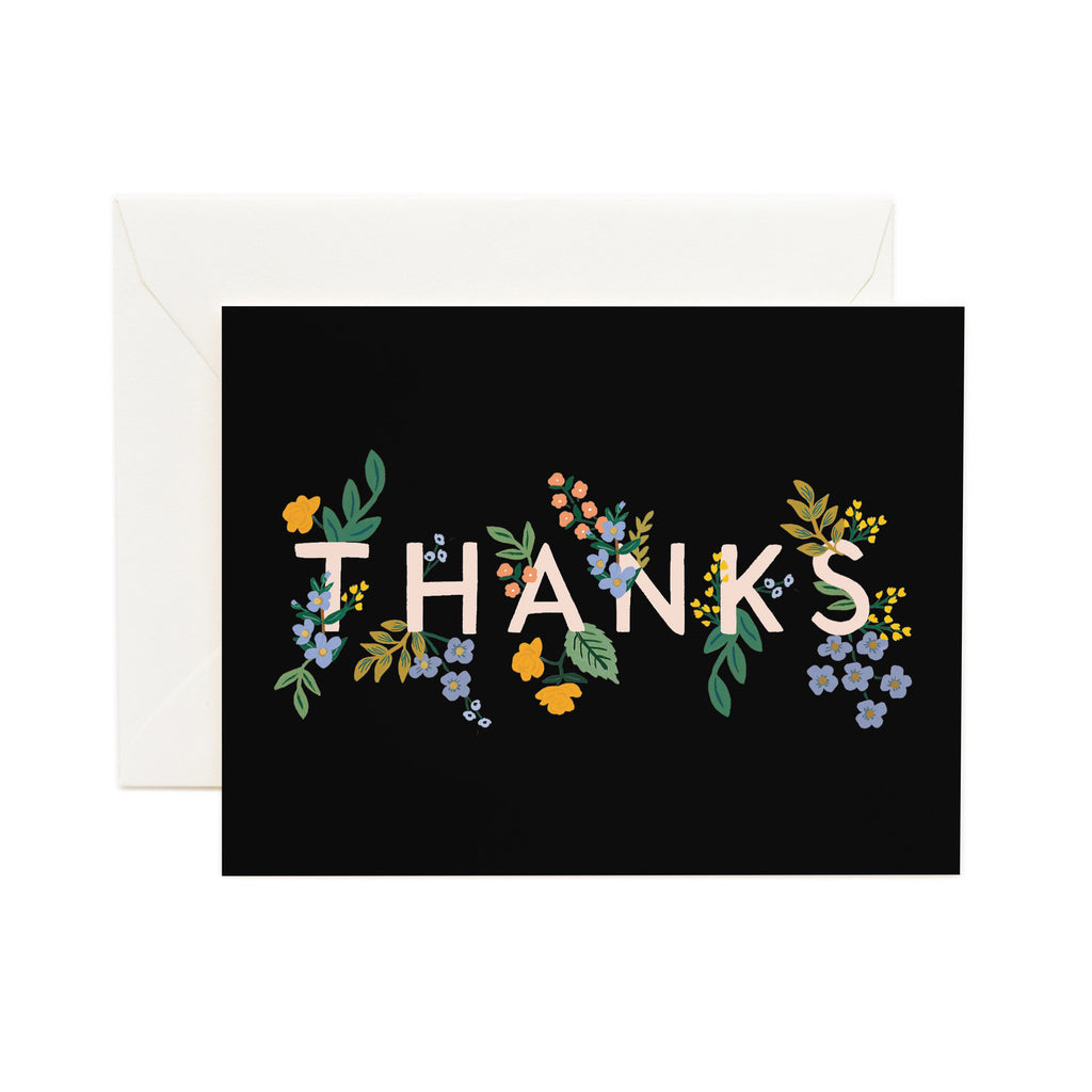 Posey - Thank You Card by Rifle Paper Co