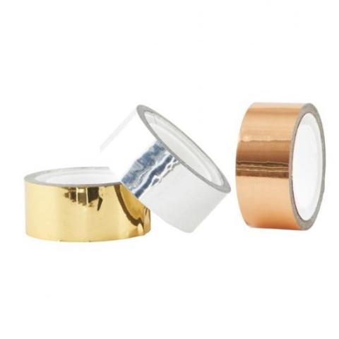 Set of 3 Metallic Tape